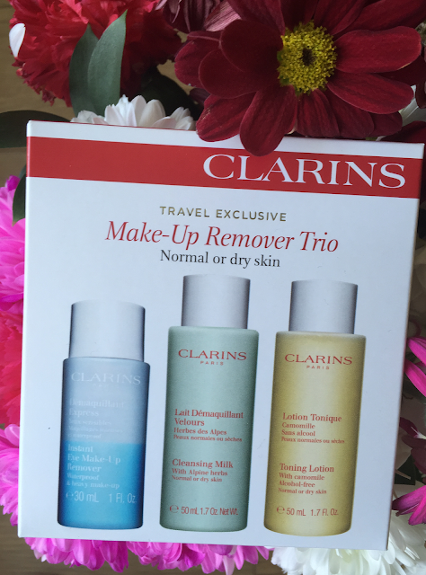 A review of Clarins Make-Up Remover Trio