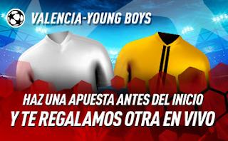 sportium Promo champions Valencia vs Boys 7 noviembre