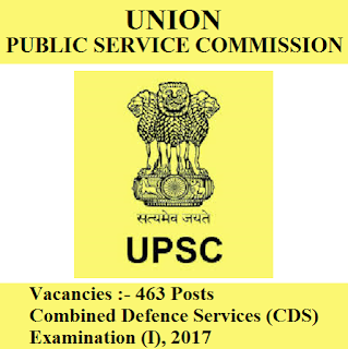 Union Public Service Commission, UPSC, Combined Defence Services, CDS, 12th, freejobalert, Sarkari Naukri, Latest Jobs, Hot Jobs, upsc cds logo