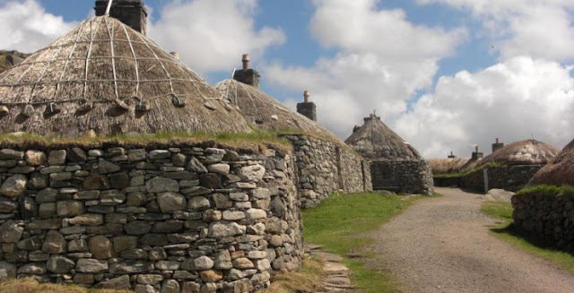 Gearrannan Blackhouse Village, Garenin