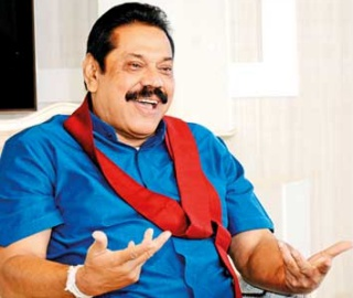 """In Japan of course ... 70s mean, middle age"" -- Mahinda's Japan talk"
