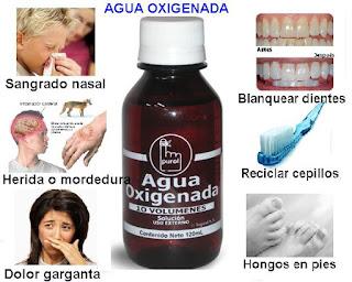 """Usos del Agua Oxigenada"""