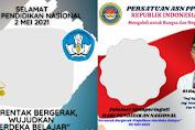 10 Twibbon HARDIKNAS 2021 Kemdikbud Keren, Ayo Download