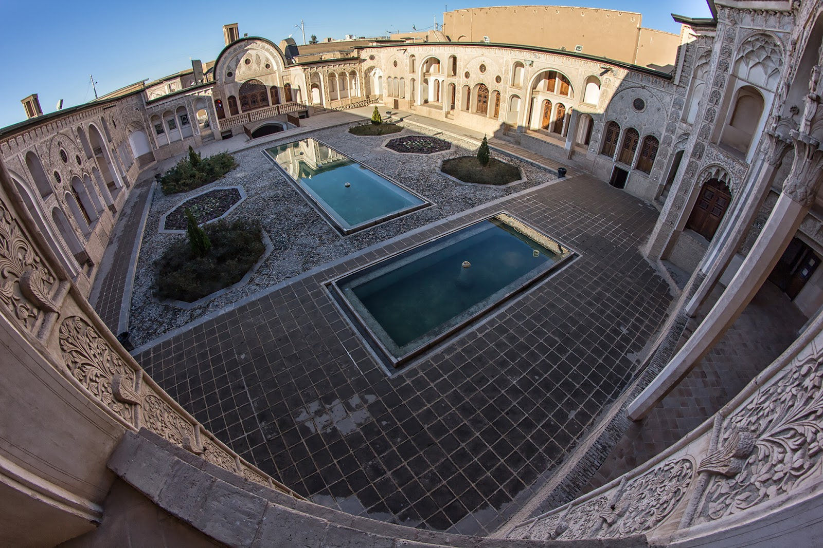 Rezydencja kupców,Iran,Kaszan