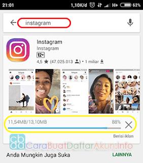 cara buat akun instagram lewat hp
