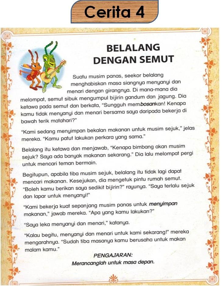 Contoh Cerita Rakyat Indonesia Pendek Contoh Jel