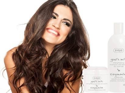 Ziaja Goat's Milk Hair Care Range