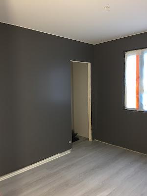 Teknoksen NCS 6000-N, Teknos, NCS 6000-N, seinien maalaaminen, rakennusblogi, Unelmista toteutukseen blogi