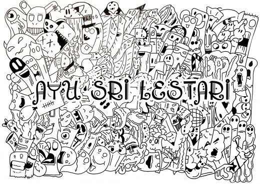 Cara Membuat Doodle Art Name di Photoshop