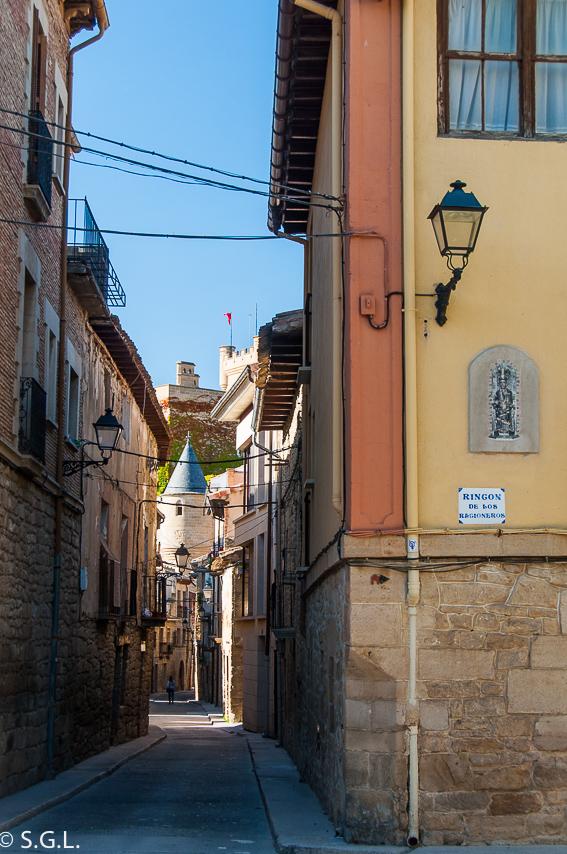 Descubriendo Navarra. Las calles de Olite