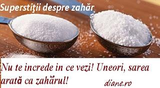 Zahărul in superstitii