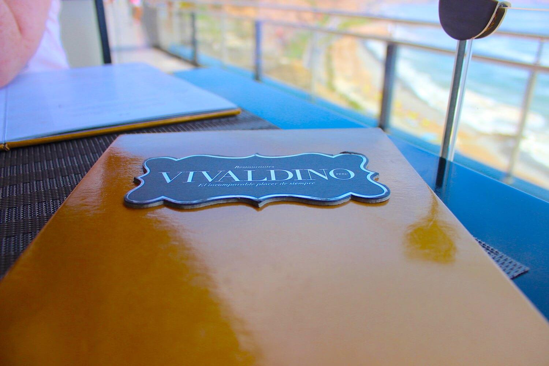 vivaldino menu
