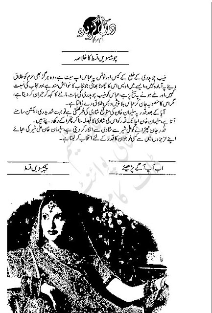 Free download Dil gazeeda novel by Umme Maryam Episode 25 pdf