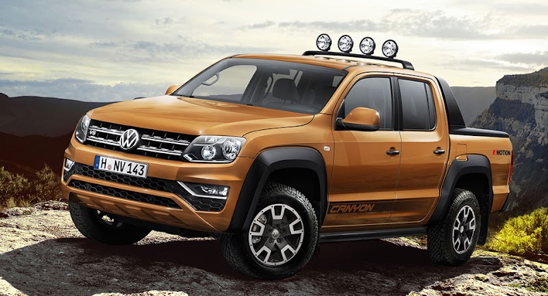 2017 VW Amarok Gets 201 HP Diesel Engine, Canyon Edition