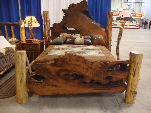 Natural Rustic Bedroom Furniture
