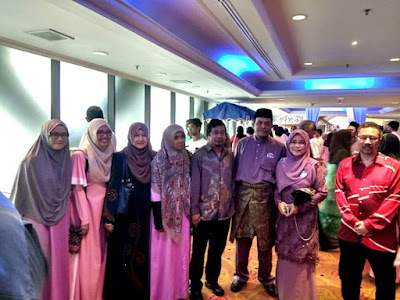Attended The Wedding Reception of Cikgu Zull and Cikgu Sufiah's Daughter