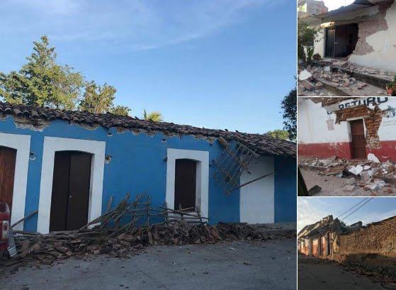 Poderoso Terremoto in Messico M7,2: epicentro Pinotepa Nacional (Oaxaca)