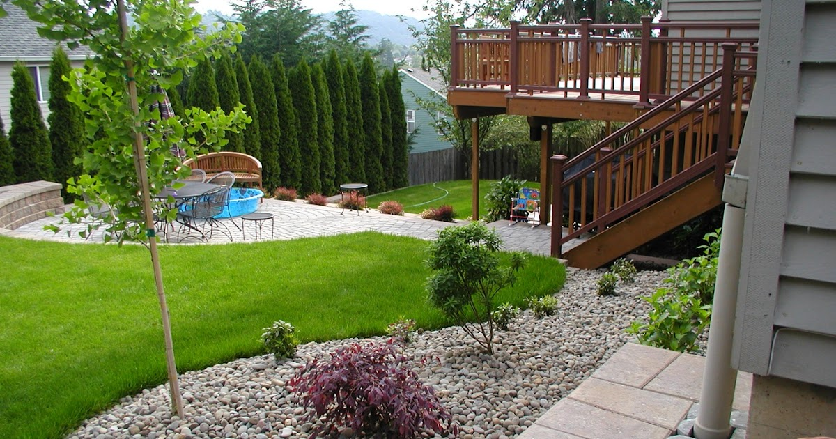 Small landscaping ideas for backyard designs for privacy for Backyard garden design plans