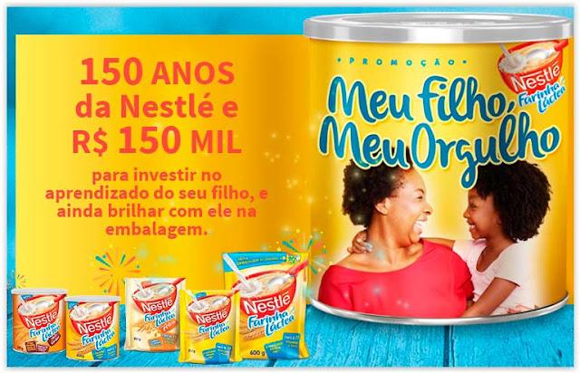 Promoção Nestlé Meu Filho Meu Orgulho