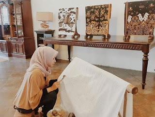 Tempat Pembuatan batik mega mendung di cirebon