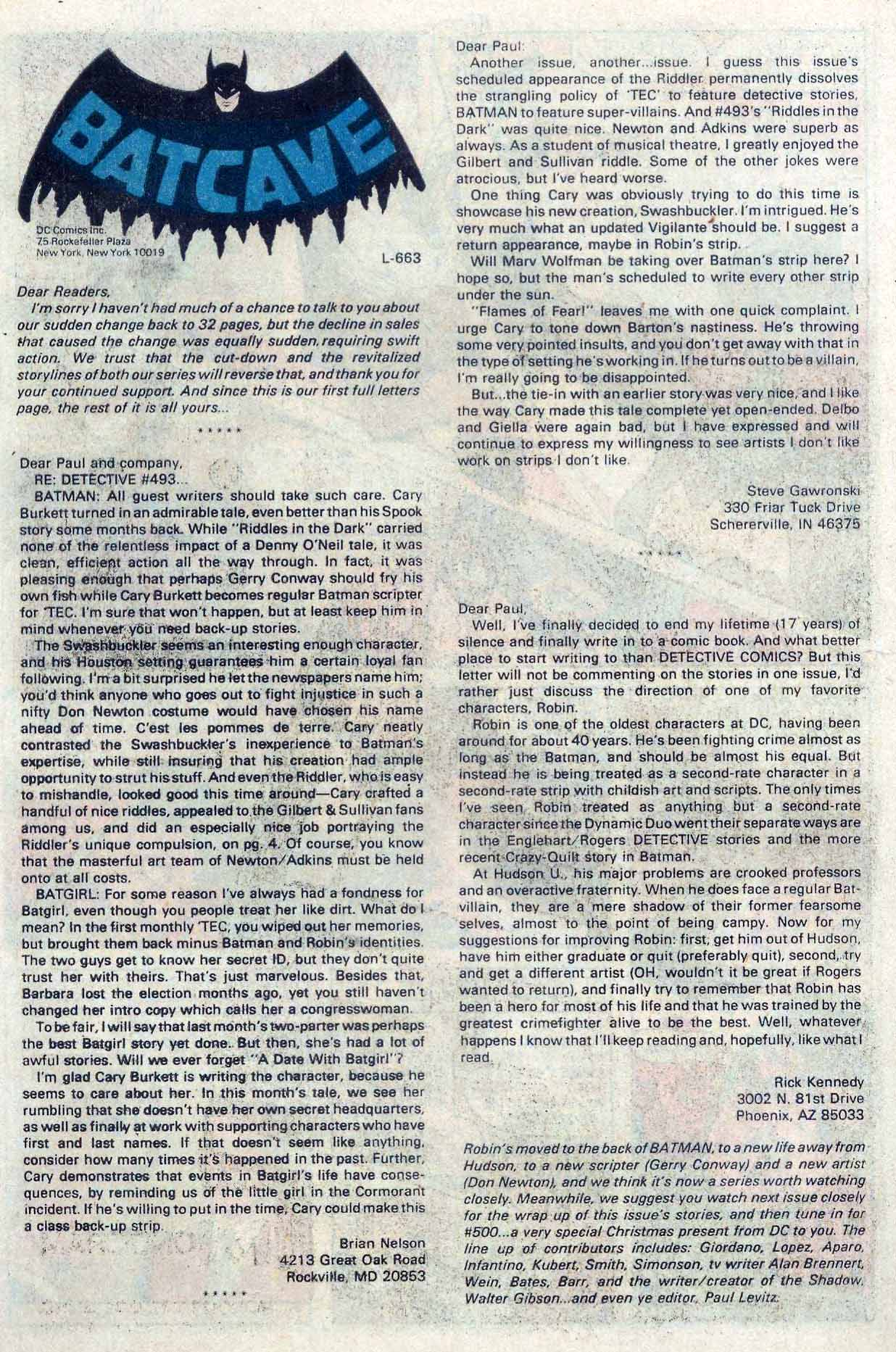 Detective Comics (1937) 498 Page 26