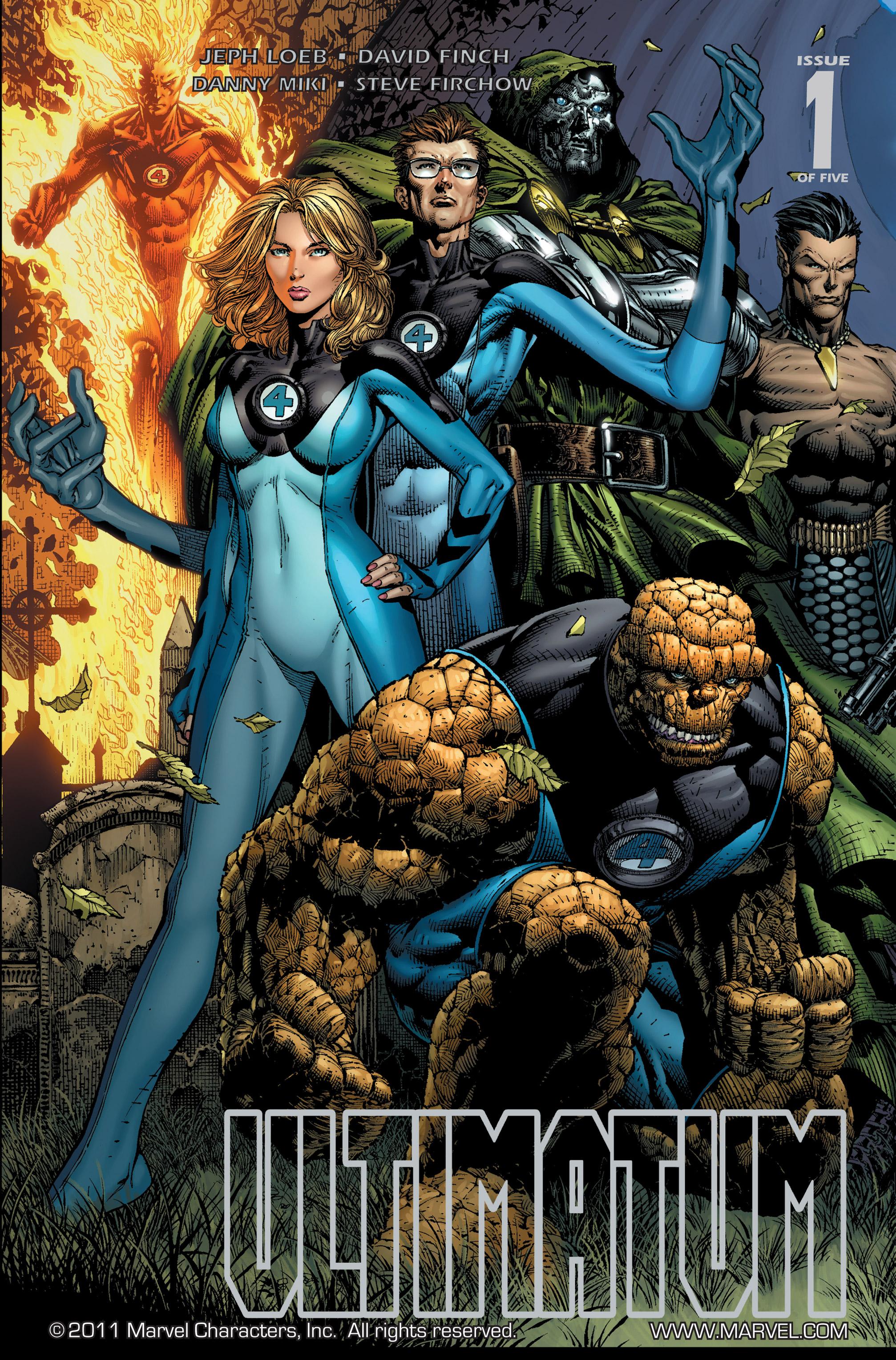 Read online Ultimatum comic -  Issue #1 - 1