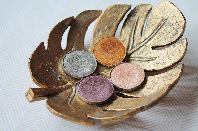 Makeup Geek Foiled Shadows - Mesmerized, Charmed, Magic Act, Untamed