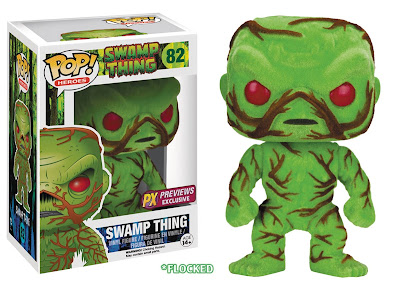 San Diego Comic-Con 2016 Exclusive Scented & Flocked Swamp Thing Pop! DC Comics Vinyl Figure by Funko
