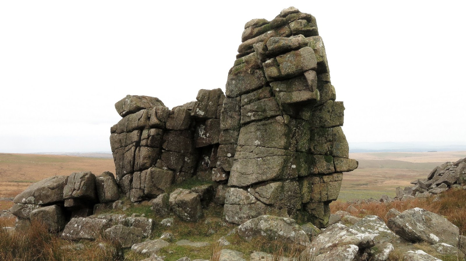 Tor Bagger: Dartmoor Tors & Rocks Map