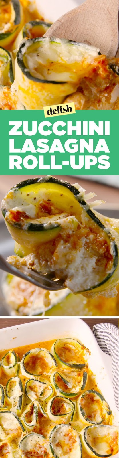 Zucchini Lasagna Roll-Ups Are Low-Carb