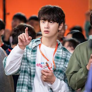 """akun instagram kim do wan pemeran kim yong san """"start-up"""""""
