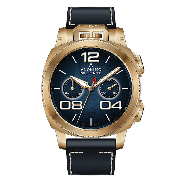 Anonimo Militare Chrono Bronze Mechanical Automatic Watch