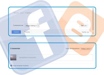 Membuat dan memasang kotak komentar facebook dan blogger,memasang 2 sistem komentar supaya pengunjung bisa memilih sistem komentar mana yang ingin dipakai untuk berkomentar.