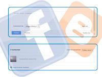 Cara Memasang Kotak Komentar Facebook & Blogger Responsive - Facebook & Blogger Comment Box