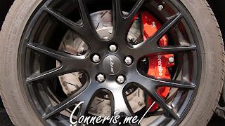 Dodge SRT Black Wheel