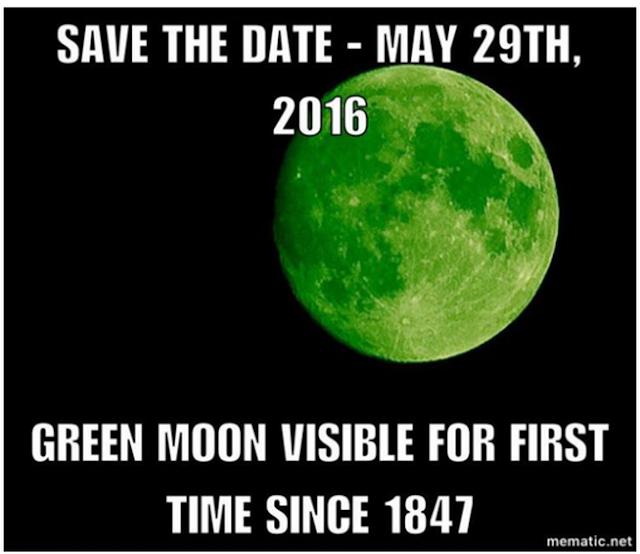 ¿Dónde ver la luna verde del 20 de abril?  Me da que te vas a quedar con las ganas...