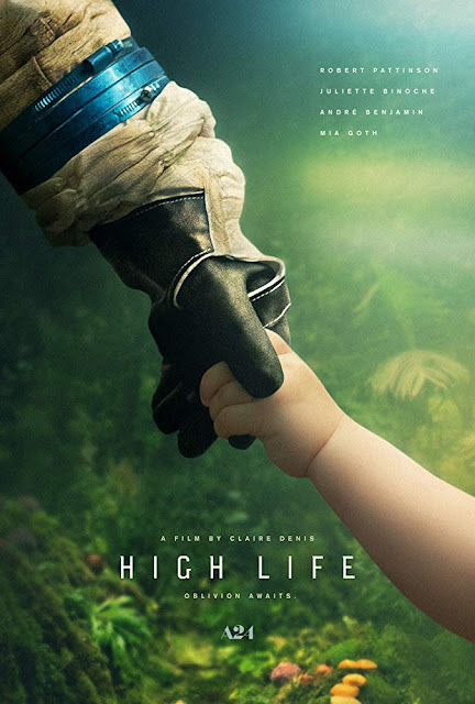 High Life 2019 A24 movie poster