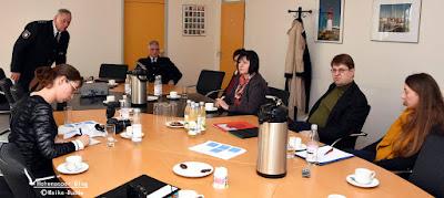SPD Landtagsfraktion besucht Polizei in Itzehoe