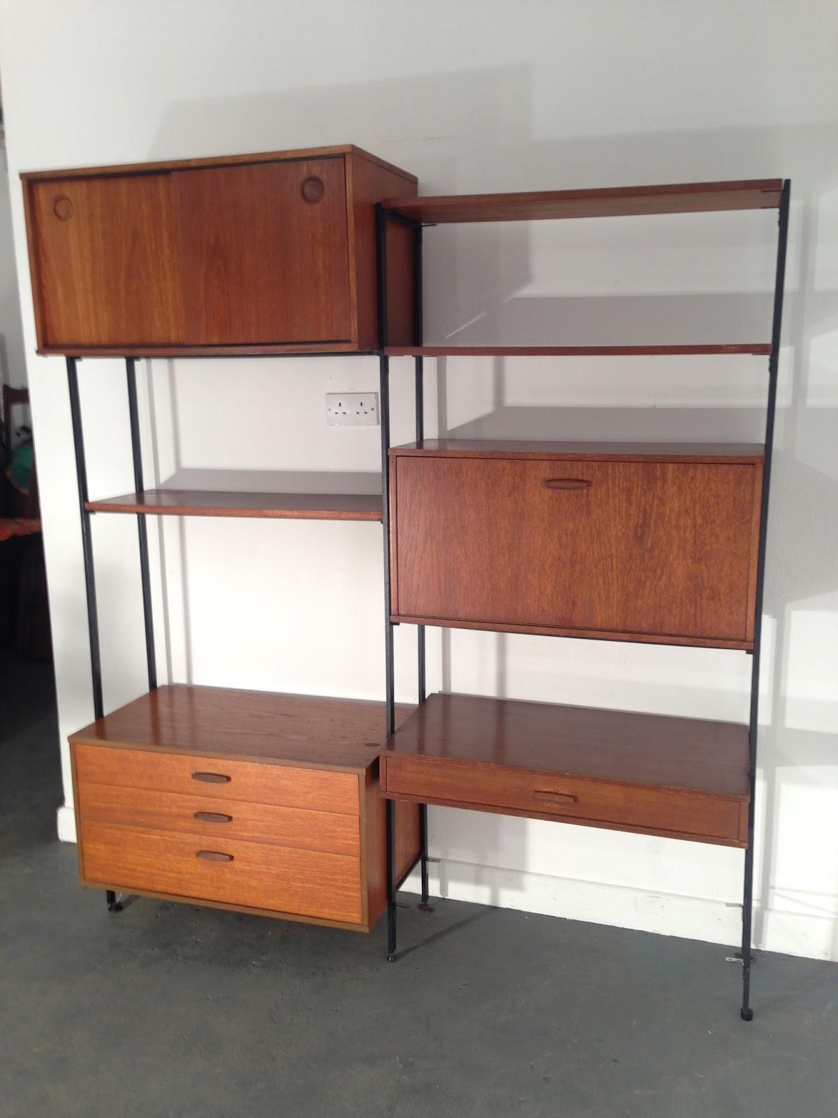 Ocd vintage furniture ireland vintage avalon shelving unit for Original design furniture