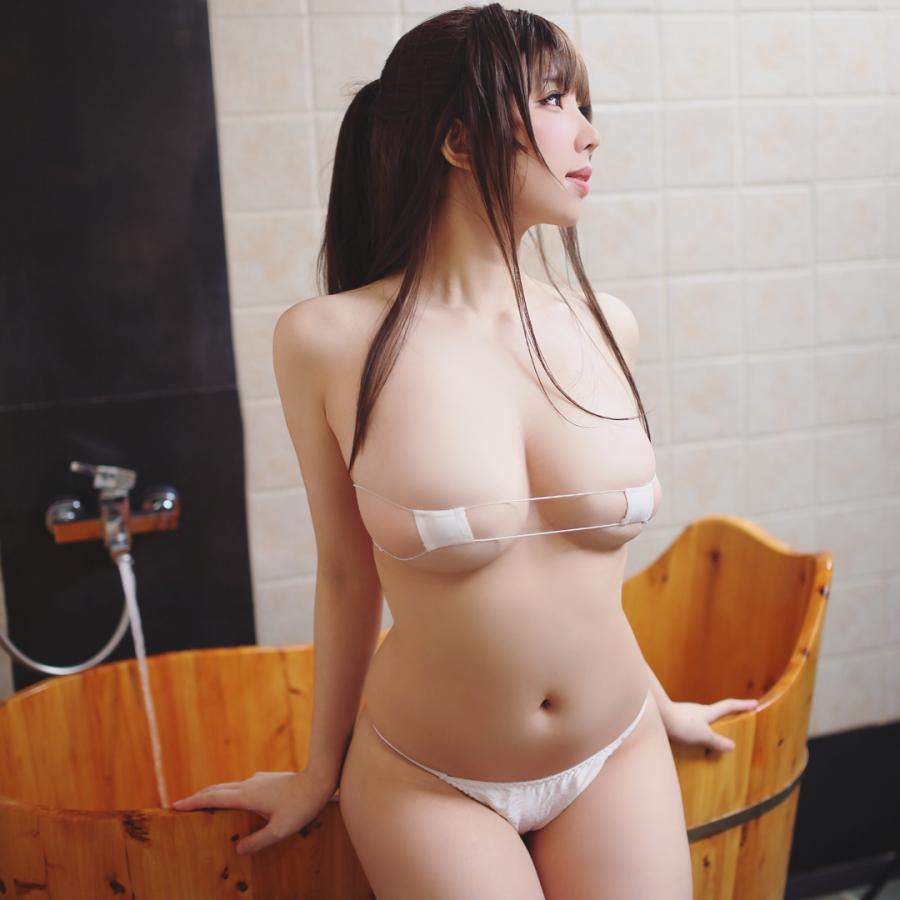 목욕 준비하는 처자