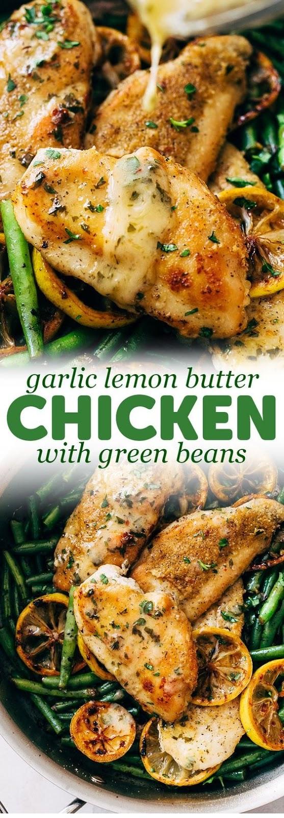 Skillet Garlic Lemon Butter Chicken