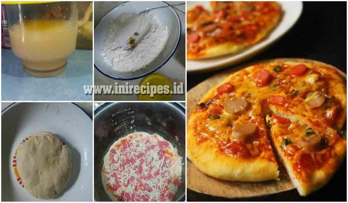 Resep Pizza Magicom Lengkap Dgn Saus Spesial Simpel, Cepat dan Yummie