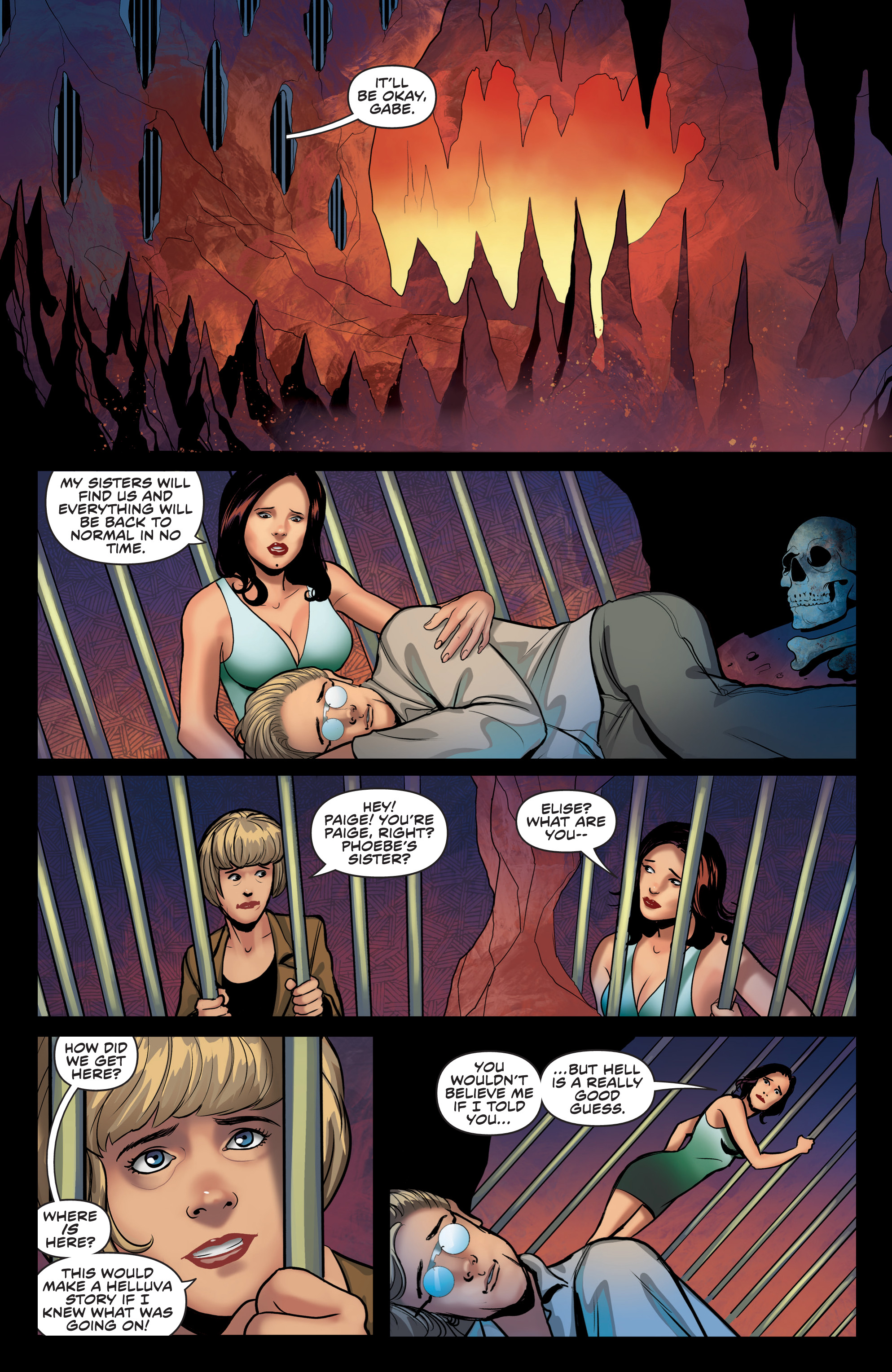 Read online Charmed (2017) comic -  Issue #4 - 20