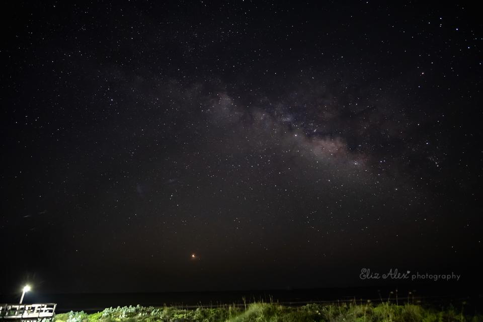 Milky Way at the beach