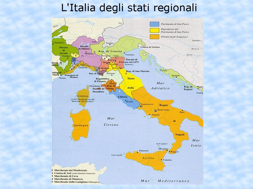 Cartina Italia Nel 400.Tisiasulweb 2015