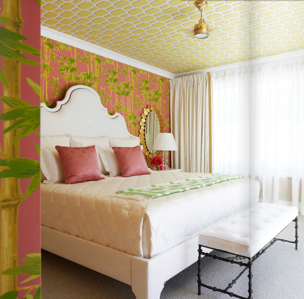 Belle Maison: Inspiration Snapshot: Tropical Glam Bedroom