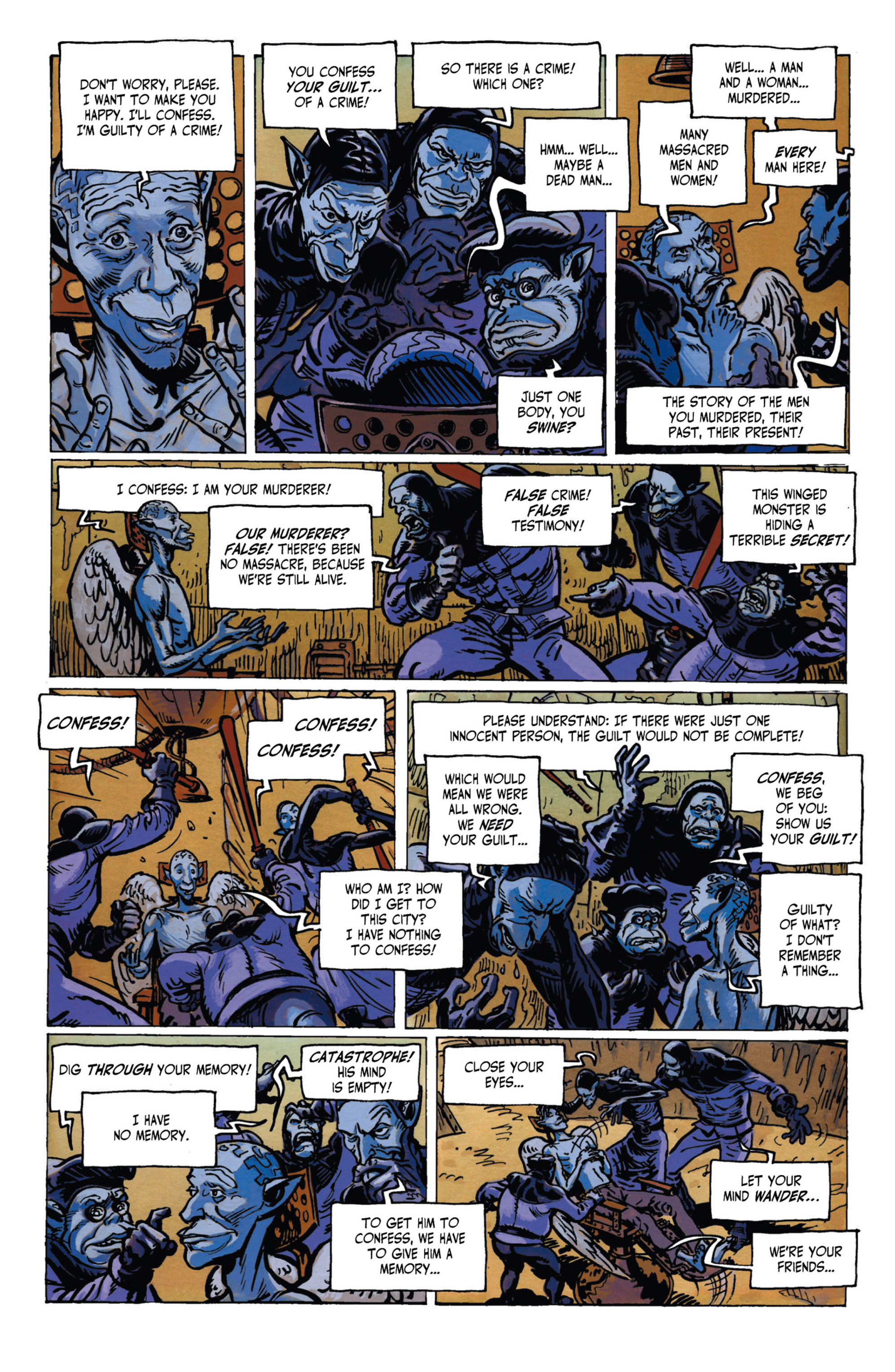 Read online Alejandro Jodorowsky's Screaming Planet comic -  Issue #1 - 29