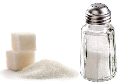 Venenos blancos sal