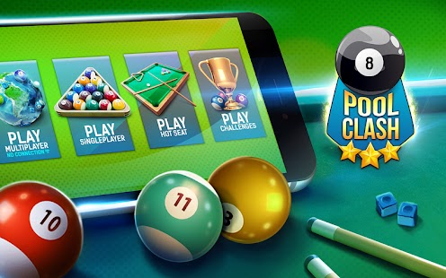 Pool Clash: 8 Ball Billiards Apk Free on Android Game Download