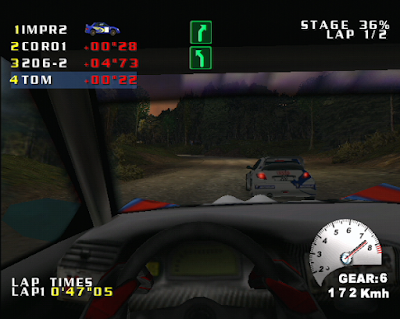 The Dreamcast Junkyard: A Quick Look At V-Rally 2: Expert